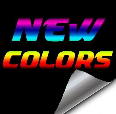 New Colors!
