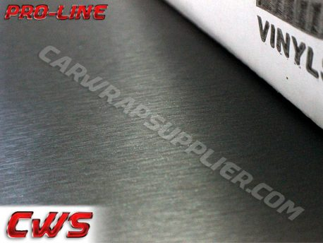 Brushed Aluminum Gunmetal Vvivid Vehicle Vinyl Film