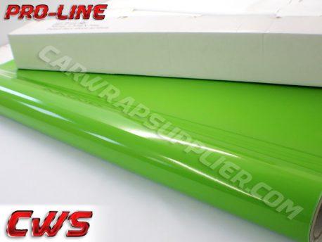 Pro-line Gloss Green Car Wrap Vinyl Film
