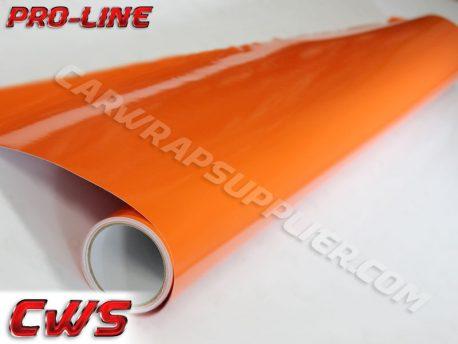 Pro-line Gloss Orange Car Wrap Vinyl Film