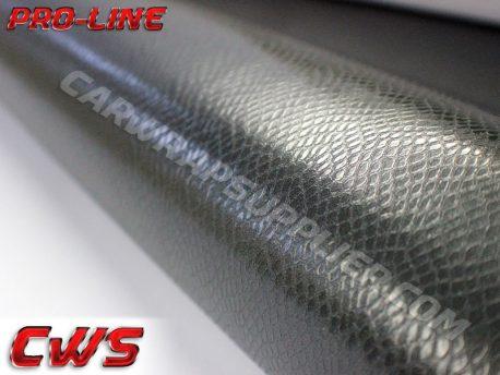 Silver Snake Skin Vehicle Vinyl Film