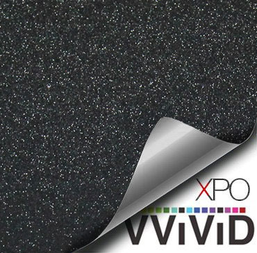 Diamond Sanding Black Vehicle Vinyl Film