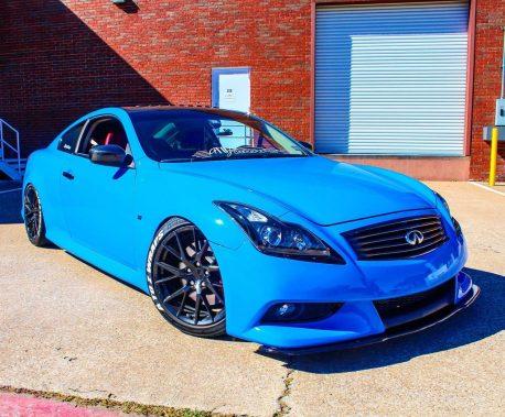 Premium Plus Gloss Smurf Blue car wrap vinyl film