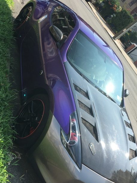 Premium+ Gloss Metallic Psycho Purple car wrap vinyl