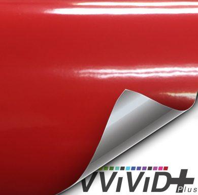 Premium Plus Gloss Rosso Corsa Red car wrap vinyl film