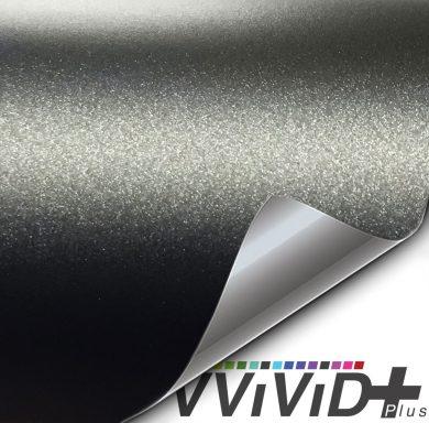 Premium Plus Matte Metallic Black Ghost car wrap vinyl film