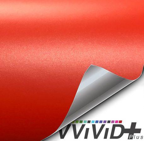 Premium Plus Matte Metallic Blood Orange car wrap vinyl film